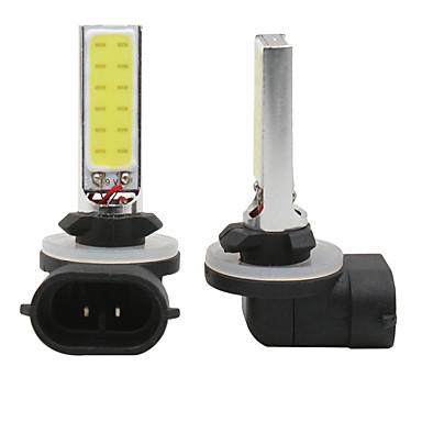 Недорогие Противотуманные фары-Автомобиль 880 881 светодиодные 10 Вт початка светодиодные белые противотуманные фары дальнего света лампы светодиодные авто дневного света drl 12 В