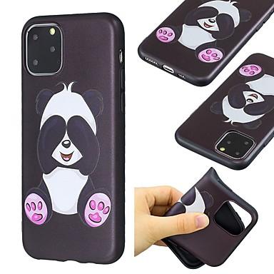 voordelige iPhone 8 hoesjes-hoesje voor apple iphone 11 / iphone 11 pro / iphone 11 pro max ultradun / patroon achterkant panda tpu voor iphone xs / x / xr / xs max / 7/8 plus / 6 / 6s plus / 5 / 5s / se