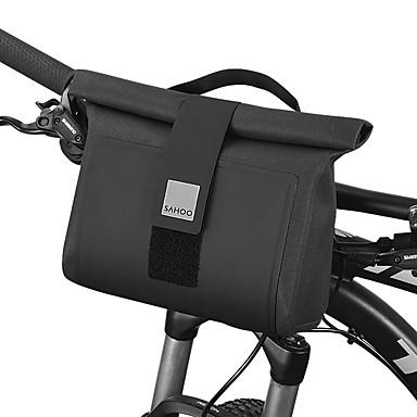 olcso Kerékpár táskák-2 L Kormánytáska Vízálló Hordozható Viselhető Kerékpáros táska TPU 1680D poliészter Kerékpáros táska Kerékpáros táska Kerékpározás Szabadtéri gyakorlat Kerékpár