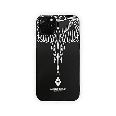 voordelige iPhone X hoesjes-hoesje Voor Apple iPhone 11 / iPhone 11 Pro / iPhone 11 Pro Max Ultradun / Patroon Achterkant Veren TPU