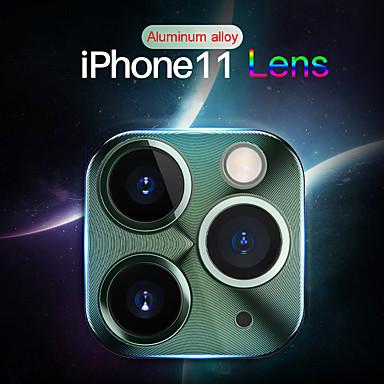 voordelige iPhone XS screenprotectors-aluminium lens schermbeschermer voor iPhone 11/11 pro / 11 pro max / x / xs / xs max / xr / 7 8/7 8 plus camera krasbestendig