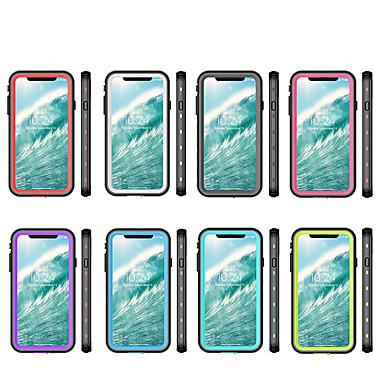 Недорогие Кейсы для iPhone X-чехол для яблока применим к чехлу xs max 2-в-1 для мобильного телефона с защитой от падений xr водонепроницаемый прозрачный точка все включено x / xs чехол для мобильного телефона