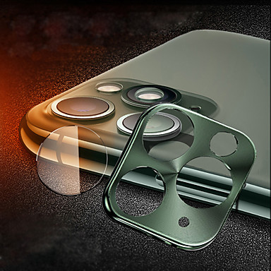 Недорогие Защитные плёнки для экрана iPhone-Объектив камеры протектор комбинированный титановый сплав HD закаленное стекло для iPhone 11/11 Pro / 11 Pro Max / X / XS / XS Макс / XR / 7 8/7 8 плюс