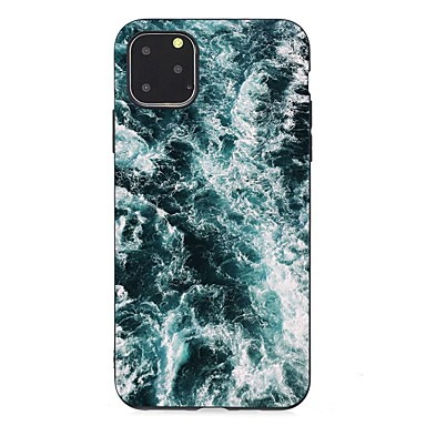 voordelige iPhone 5 hoesjes-hoesje Voor Apple iPhone 11 / iPhone 11 Pro / iPhone 11 Pro Max Ultradun / Mat / Patroon Achterkant Landschap TPU