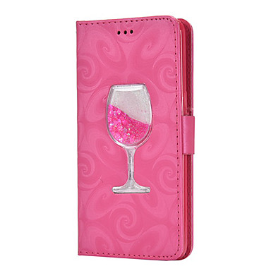Недорогие Кейсы для iPhone 6 Plus-яблоко подходит для карт типа xs max / xr / x кошелек 6/7/8 чехол для жидкого бокала для вина 6 плюс / 7 плюс / 8 плюс универсальный чехол для мобильного телефона с защитой от падения