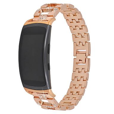 Недорогие Часы для Samsung-Набор шнека из нержавеющей стали металлический ремешок для часов для Samsung Galaxy Fit Fit 2