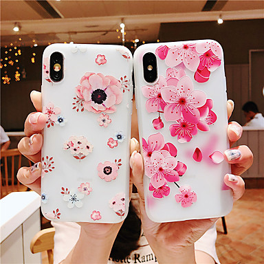 voordelige Galaxy Note-serie hoesjes / covers-hoesje Voor Samsung Galaxy Note 9 / Samsung Note 10 / Galaxy Note 10+ Patroon Achterkant Vlinder / Boom / Bloem TPU