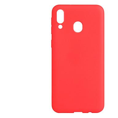 voordelige Galaxy A-serie hoesjes / covers-hoesje Voor Samsung Galaxy A8 2018 / Galaxy A30 (2019) / Galaxy A50 (2019) Schokbestendig / Ultradun / Mat Achterkant Effen TPU