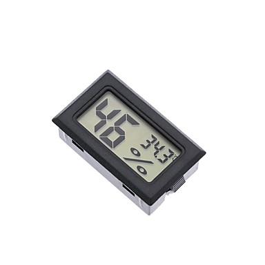 billige Tilbehør til fisk og akvarier-mini digital lcd indendørs praktisk temperatursensor fugtighedsmåler termometer hygrometer måler