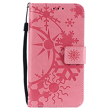 Недорогие Чехлы и кейсы для Galaxy Note 3-Кейс для Назначение SSamsung Galaxy Note 8 / Note 4 / Note 3 Бумажник для карт Чехол Геометрический рисунок Кожа PU / ПК