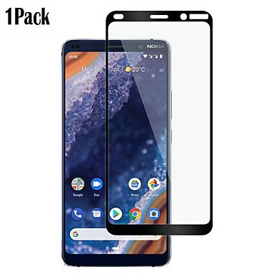 olcso Nokia képernyővédők-naxtop képernyővédő fülvédő nokia 9 pureview / 8 / 7.1 / 5.1 / 3.1 / 7 plusz nagy felbontású (hd) első képernyővédő fólia, 1 db edzett üveg