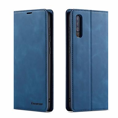 Недорогие Чехлы и кейсы для Galaxy А-Роскошный кожаный магнитный флип-кейс для Samsung Galaxy A10 A20 A30 A40 A50 A60 A70 A80 A90 2019 A30S A50S A20E M10 A6 2018 A7 2018 A8 2018