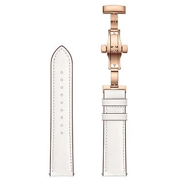 voordelige Smartwatch-accessoires-lederen horlogeband voor huami amazfit 2 / huami amazfit 2s rosé gouden vlindergespband