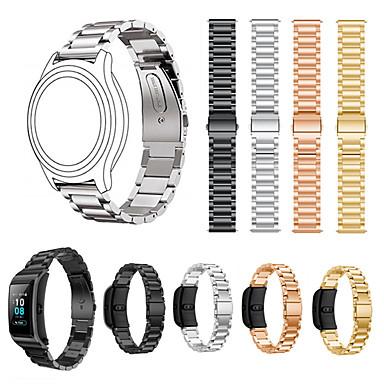 Недорогие Ремешки для часов Huawei-18 мм ремешок из нержавеющей стали для часов huawei watch1 / honor s1 / fit / b5