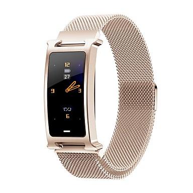 お買い得  スマートエレクトロニクス-新しいf8ファッションメンズ多機能スチールベルトスポーツブルートゥーススマートな腕時計/心拍数血圧酸素健康状態監視/複数のスポーツモード/ ip67防水
