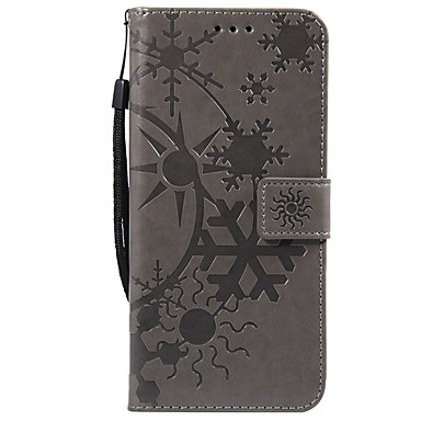 Недорогие Чехлы и кейсы для Galaxy S-Кейс для Назначение SSamsung Galaxy S9 / S9 Plus / S8 Plus Бумажник для карт Чехол Геометрический рисунок Кожа PU / ПК