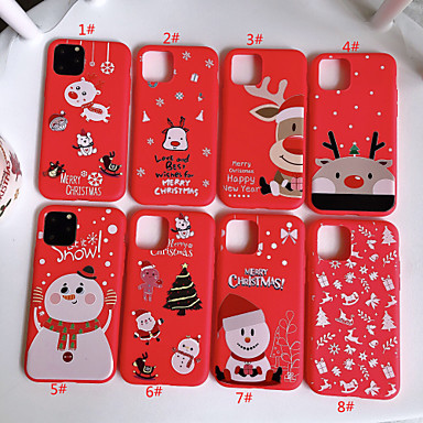 hoesje Voor Apple iPhone 11 / iPhone 11 Pro / iPhone 11 Pro Max Patroon Achterkant Cartoon TPU