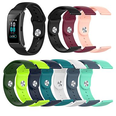 abordables Accesorios para Smartwatch-correa de pulsera de silicona deportiva para huawei b5 / huawei fit / honor s1 / huawei pulsera de reloj pulsera reemplazable