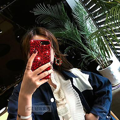 Недорогие Кейсы для iPhone 7 Plus-чехол для яблока iphone xs / iphone xr / iphone xs max / 7 8 plus / 6splus / 6s горный хрусталь задняя крышка сплошной акрил