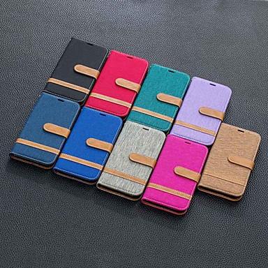 Недорогие Кейсы для iPhone-чехол для яблока iphone 11 / iphone 11 pro / iphone 11 pro max кошелек / держатель для карты / с подставкой для всего корпуса чехлы из ткани для яблок iphone xs / x / xr / xs max / 7/8 plus / 6 / 6s
