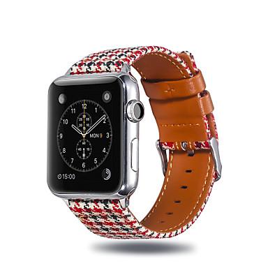 Недорогие Ремешки для Apple Watch-Ремешок для часов для Apple Watch Series 4 / Apple Watch Series 3 / Apple Watch Series 2 Apple Спортивный ремешок Материал / силиконовый Повязка на запястье