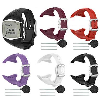 Недорогие Аксессуары для смарт-часов-Ремешок для часов для POLAR FT60 Polar Спортивный ремешок силиконовый Повязка на запястье