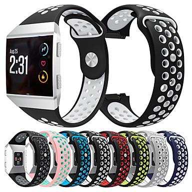 Недорогие Аксессуары для мобильных телефонов-Спортивный силиконовый ремешок для часов ремешок на запястье для fitbit ионных смарт-часы браслет браслет сменные аксессуары