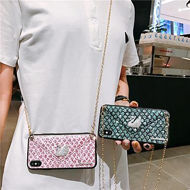 voordelige Galaxy Note-serie hoesjes / covers-hoesje Voor Samsung Galaxy S9 / S9 Plus / S8 Plus Armband / Glitterglans Achterkant dier / Glitterglans TPU