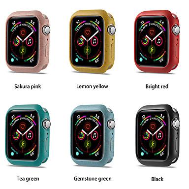 Χαμηλού Κόστους Περιπτώσεις Smartwatch-ρολόι tpu προστατευτική θήκη για ζώνη ρολογιών μήλων 44mm 40mm για σειρά iwatch 5 πολύχρωμο κάλυμμα κάλυψης κάλυψης