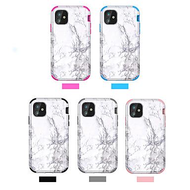 voordelige iPhone 5 hoesjes-hoesje Voor Apple iPhone 11 / iPhone 11 Pro / iPhone 11 Pro Max Schokbestendig / IMD Achterkant Marmer PC