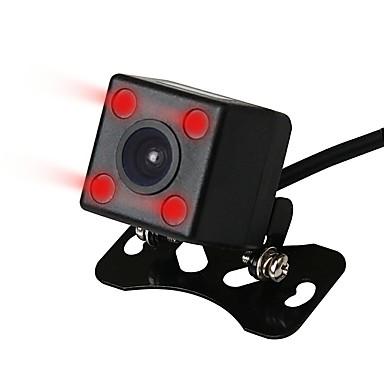 Недорогие Камеры заднего вида для авто-Ziqiao широкий угол обзора водонепроницаемая камера заднего вида 4 ИК ночного видения автомобиля камера заднего вида датчик изображения CCD
