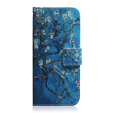 Недорогие Кейсы для iPhone-Кейс для Назначение Apple iPhone 11 / iPhone 11 Pro / iPhone 11 Pro Max Бумажник для карт / Защита от удара / С узором Чехол дерево ТПУ