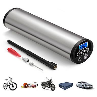 Недорогие Аварийные инструменты-150psi мини инфлятор электрический портативный автомобильный велосипедный насос электрический авто воздушный компрессор насосы ес разъем с жк-дисплеем