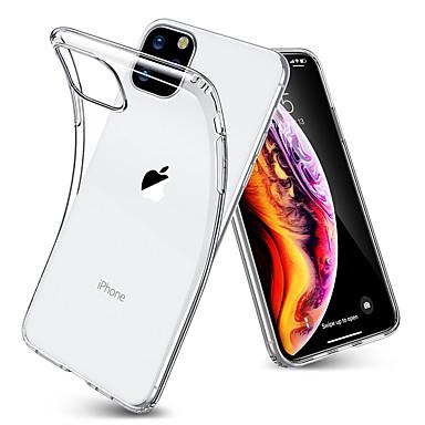 voordelige iPhone-hoesjes-ultradunne transparante TPU-hoes voor iPhone 11 Pro / iPhone 11 / iPhone 11 Pro Max zachte TPU-transparante bumperhoes