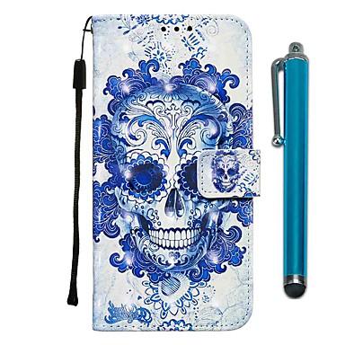 Недорогие Кейсы для iPhone 6-чехол для apple iphone 11 / iphone 11 pro / iphone 11 pro max кошелек / держатель карты / с подставкой для всего тела чехлы из кожи призрака из искусственной кожи для iphone x / xs / xr / xs max / 8