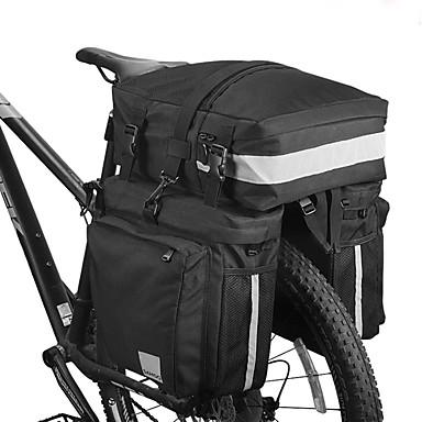 olcso Kerékpár táskák-37 L Túratáska csomagtartóra / Kétoldalas túratáska Hordozható Viselhető Fényvisszaverő csíkok Kerékpáros táska Műanyag 600D poliészter Kerékpáros táska Kerékpáros táska Kerékpározás Szabadtéri