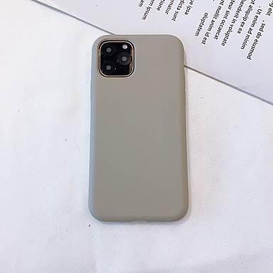 hoesje Voor Apple iPhone 11 / iPhone 11 Pro / iPhone 11 Pro Max Ultradun Achterkant Effen TPU