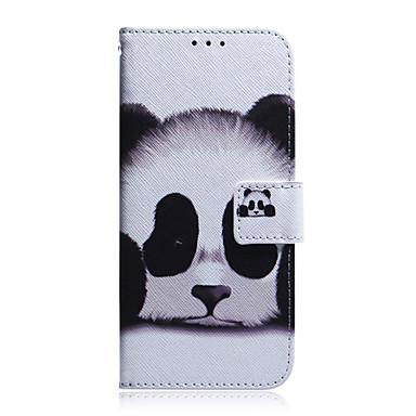 Недорогие Кейсы для iPhone-Кейс для Назначение Apple iPhone 11 / iPhone 11 Pro / iPhone 11 Pro Max Бумажник для карт / Защита от удара / С узором Чехол Животное / Мультипликация ТПУ