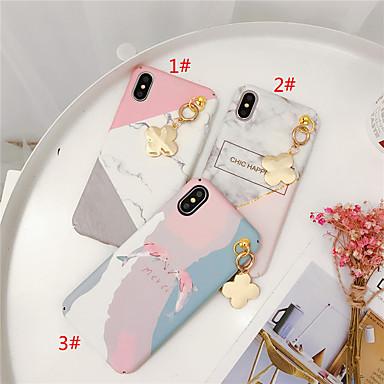 voordelige iPhone X hoesjes-hoesje Voor Apple iPhone XS / iPhone XR / iPhone XS Max Patroon / DHZ Achterkant Marmer TPU
