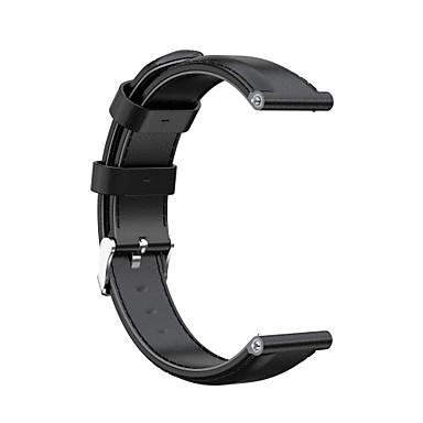 Недорогие Ремешки для часов Huawei-ремешок для часов 16/18/20/22/23 / 24мм классическая пряжка из натуральной кожи