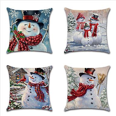 رخيصةأون وسائد-عيد الميلاد وسادة غطاء وسادة تغطي سلسلة 19 موضوع سيارة ثلج