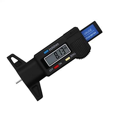 Недорогие Аварийные инструменты-Цифровой измеритель глубины резины в шинах
