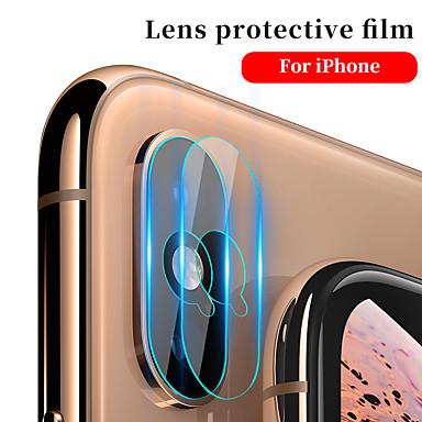 Недорогие Защитные плёнки для экрана iPhone-Яблочный экран Protectoriphone XS зеркало объектив камеры протектор 1 шт. закаленное стекло