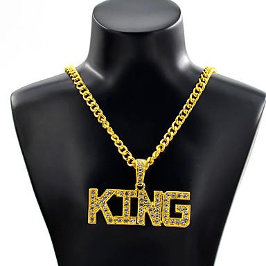 رجالي قلائد الحلي بانغك كروم ذهبي فضي 70 cm قلادة مجوهرات 1PC من أجل مناسب للبس اليومي