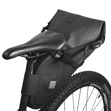 olcso Kerékpár táskák-7 L Nyeregtáska Vízálló Hordozható Viselhető Kerékpáros táska TPU 1680D poliészter Kerékpáros táska Kerékpáros táska Kerékpározás Szabadtéri gyakorlat Kerékpár