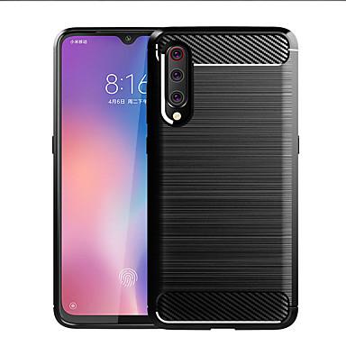 olcso Táblagép tokok-Case Kompatibilitás Huawei MediaPad Xiaomi Mi 9 Explorer Ütésálló / Ultra-vékeny / Jeges Fekete tok Egyszínű TPU