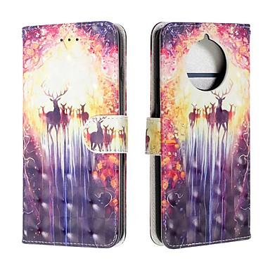Недорогие Чехлы и кейсы для Nokia-чехол для nokia 9 pureview / nokia 7.1 / кошелек nokia 4.2 / флип кейс / флип чехлы для тела животных искусственная кожа для nokia 1 plus / nokia x71