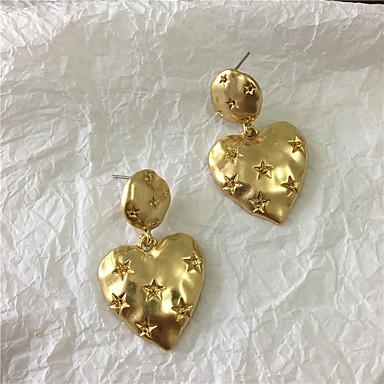 رخيصةأون أقراط-نسائي حلقات فينتاج السويد الأقراط مجوهرات ذهبي من أجل هدية مناسب للبس اليومي مهرجان 1 زوج