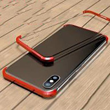Недорогие Кейсы для iPhone 6 Plus-магнитный двухсторонний чехол для яблока iphone xs / iphone xr / iphone xs max / 7 8 plus / 7 8 / 6splus / 6s прозрачный / магнитный чехлы для корпуса сплошное цветное закаленное стекло