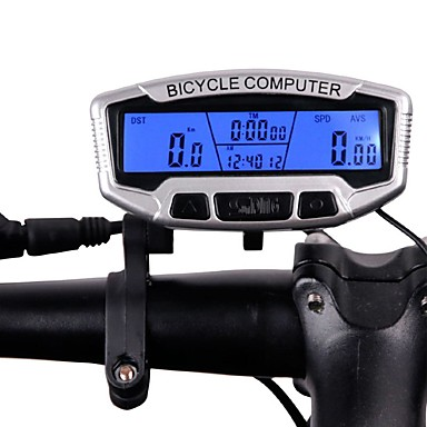 olcso Sebességmérők-1231 Kerékpár computer Hordozható Odo – Utazáshossz mérő Kerékpározás / Kerékpár Kerékpározás